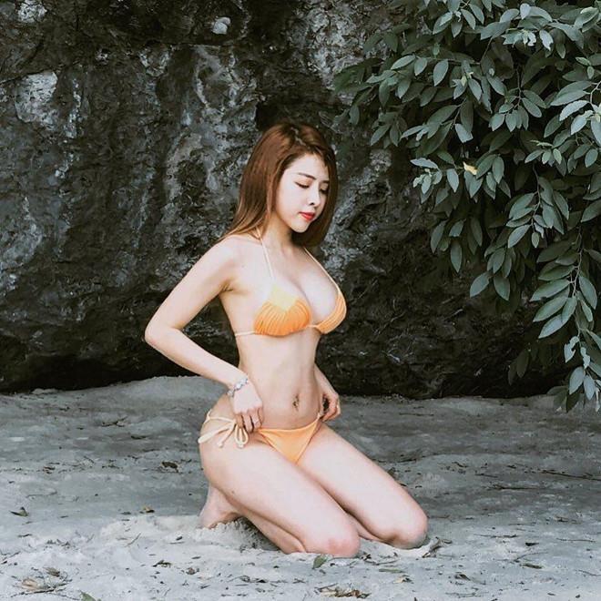 Hot girl 'sieu vong 3': Nguoi co body khoe khoan, ke xinh nhu gai Tay hinh anh 6