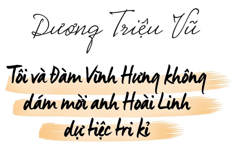 Duong Trieu Vu: 'Toi va Dam Vinh Hung khong lam dam cuoi' hinh anh 1 Dương Triệu Vũ: 'Tôi và Mr. Đàm không dám mời Hoài Linh dự tiệc tri kỷ