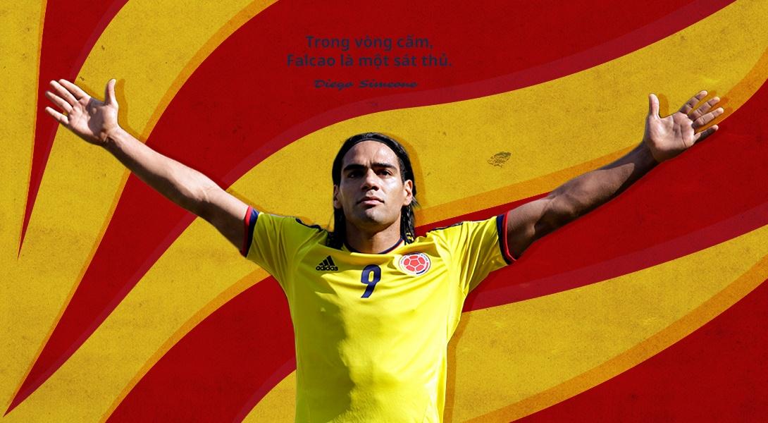 Radamel Falcao - Con ho ma manh trong con doi World Cup hinh anh 11