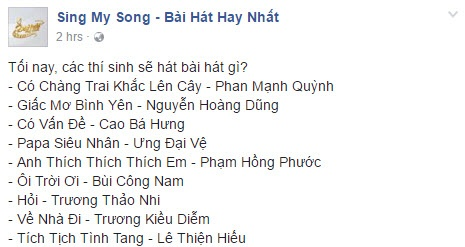 Chung ket Sing My Song 2016 anh 2