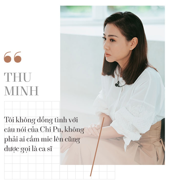 Thu Minh: 'Xin loi, toi chua the goi Chi Pu la ca si' hinh anh 8