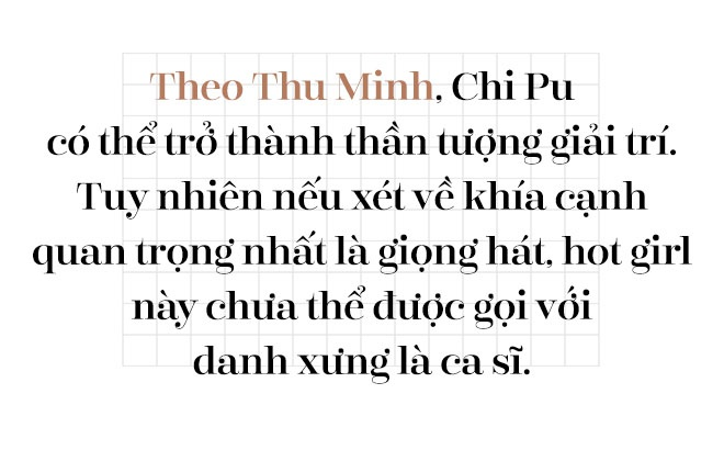 Thu Minh: 'Xin loi, toi chua the goi Chi Pu la ca si' hinh anh 2