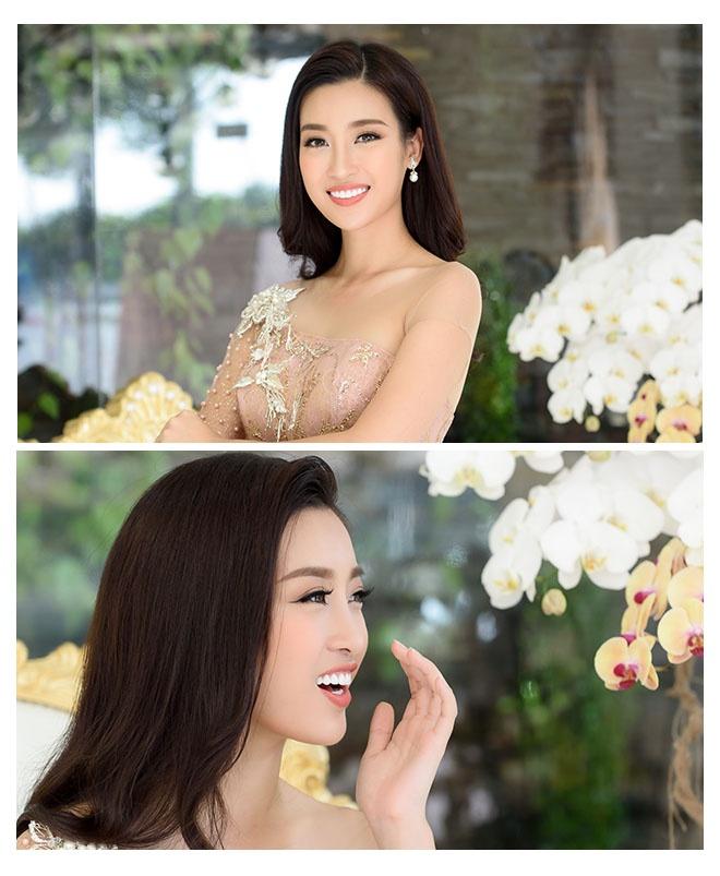 Hoa hau Do My Linh: 'Khong can dan ong giau, chi can truong thanh' hinh anh 16