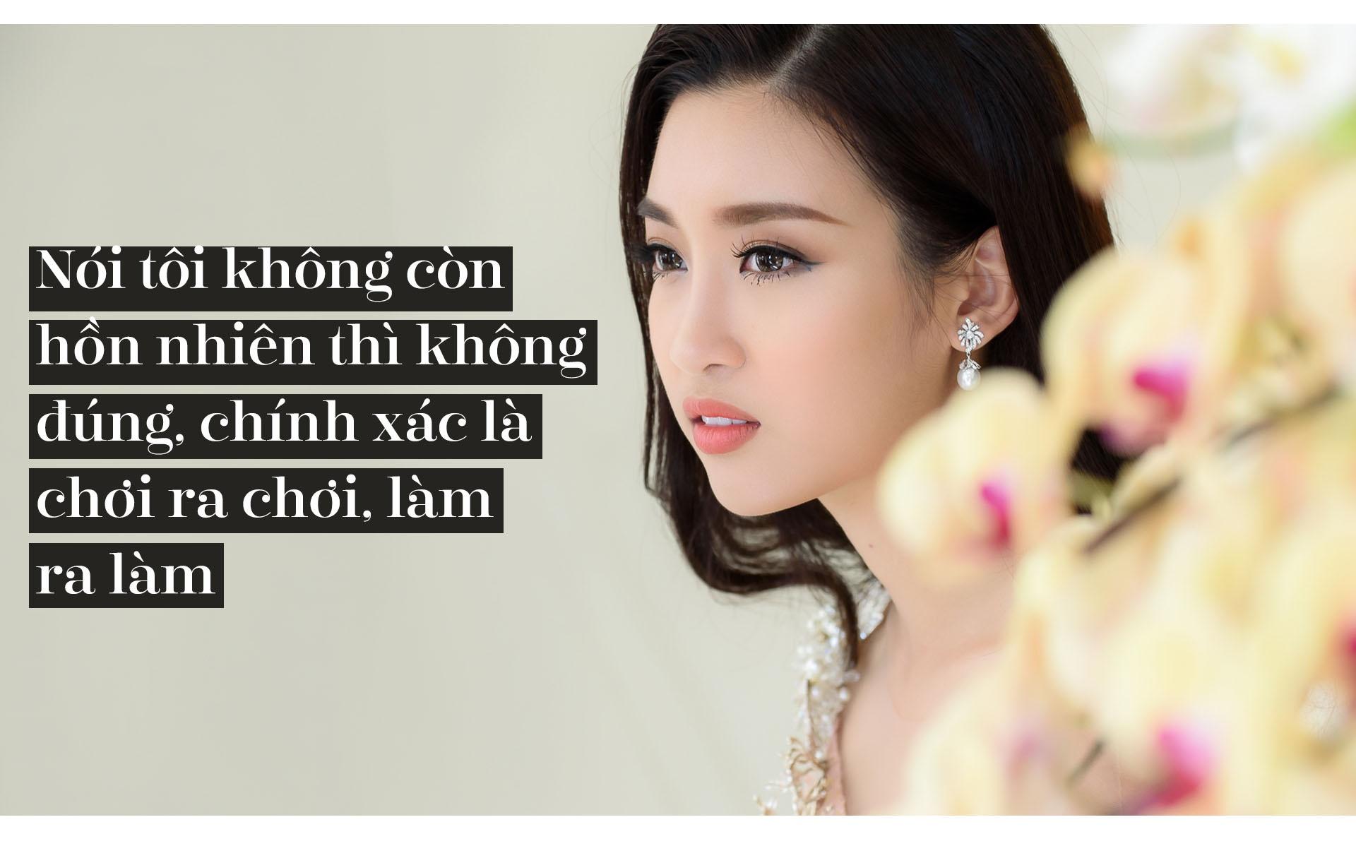 Hoa hau Do My Linh: 'Khong can dan ong giau, chi can truong thanh' hinh anh 5