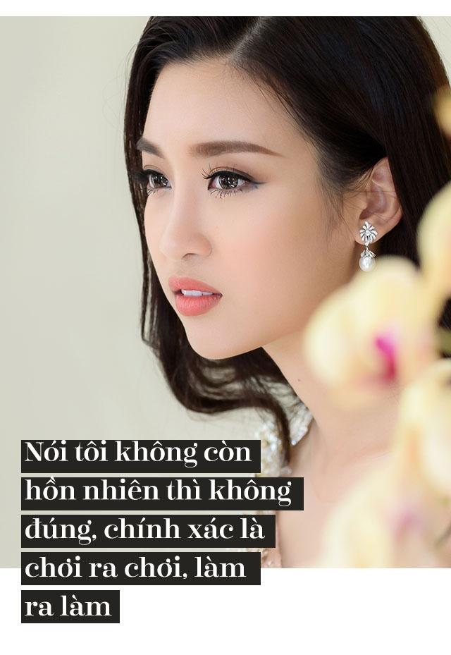 Hoa hau Do My Linh: 'Khong can dan ong giau, chi can truong thanh' hinh anh 4