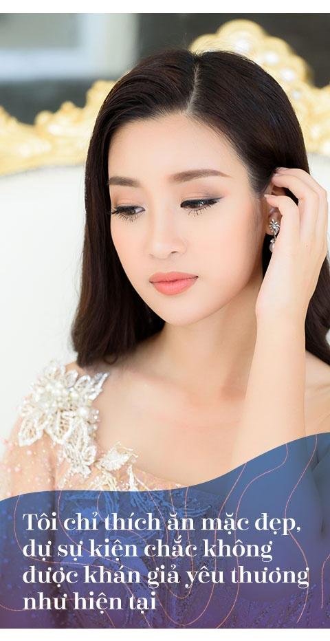 Hoa hau Do My Linh: 'Khong can dan ong giau, chi can truong thanh' hinh anh 6