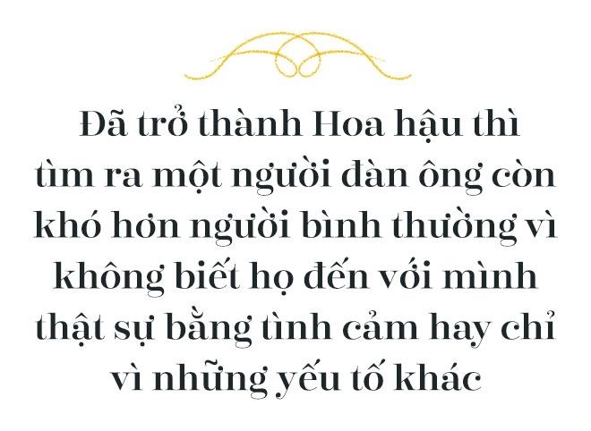 Hoa hau Do My Linh: 'Khong can dan ong giau, chi can truong thanh' hinh anh 10