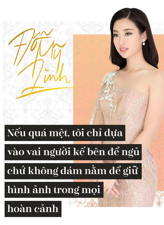 Hoa hau Do My Linh: 'Khong can dan ong giau, chi can truong thanh' hinh anh 13