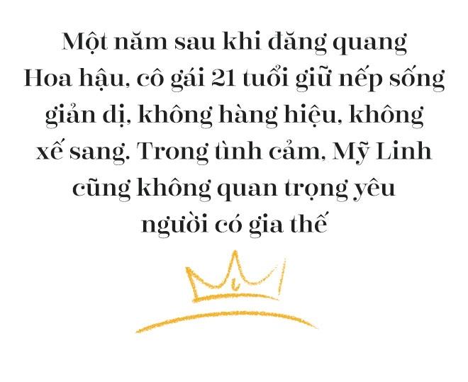 Hoa hau Do My Linh: 'Khong can dan ong giau, chi can truong thanh' hinh anh 2
