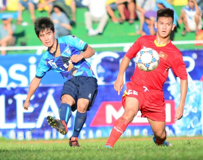Tran ban ket U21 HAGL vs U21 Yokohama anh 1