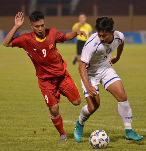 Tran U19 Viet Nam vs U19 Dai Loan anh 13