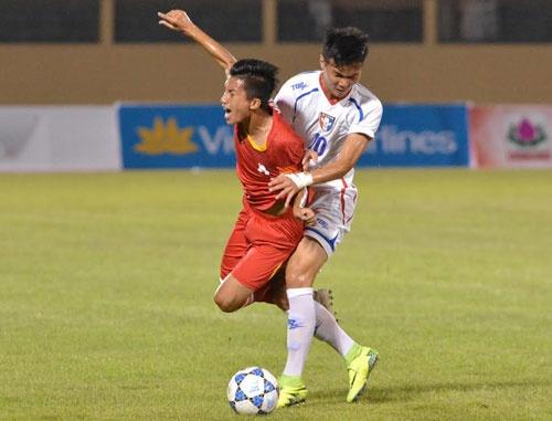Tran U19 Viet Nam vs U19 Dai Loan anh 10