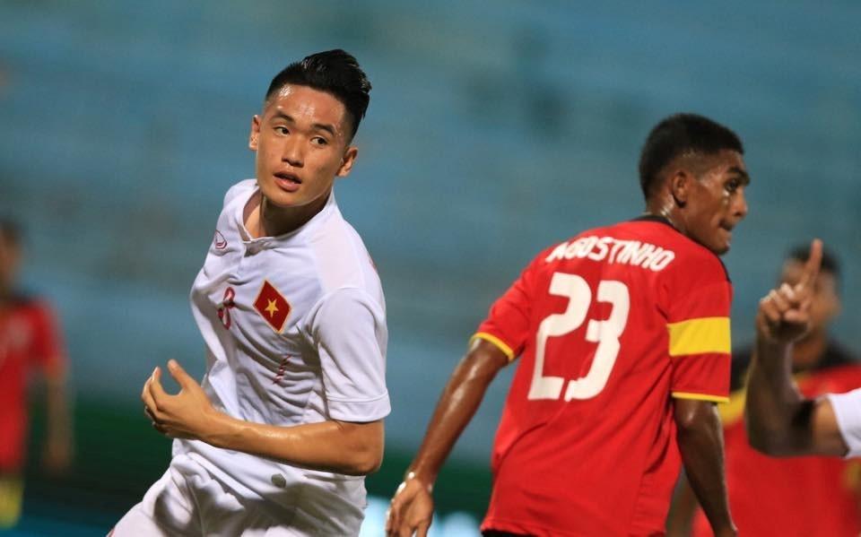 Tran U19 Viet Nam vs U19 Dai Loan anh 2