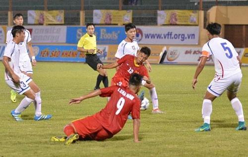 Tran U19 Viet Nam vs U19 Dai Loan anh 14