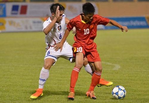 Tran U19 Viet Nam vs U19 Dai Loan anh 16
