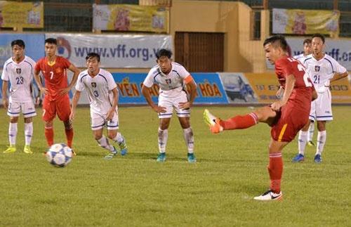 Tran U19 Viet Nam vs U19 Dai Loan anh 15