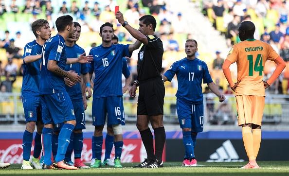 U20 Italy,  U20 Anh da tu ket anh 19