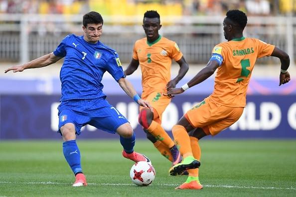 U20 Italy,  U20 Anh da tu ket anh 22