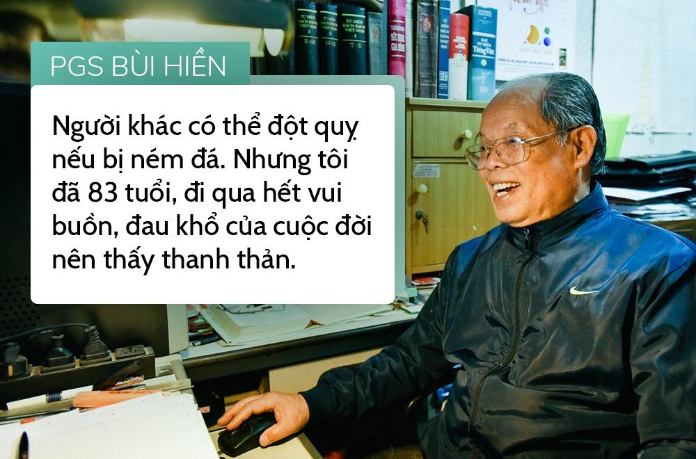 PGS Bui Hien: Nguoi khac bi 'nem da' nhu toi chac da dot quy hinh anh 3