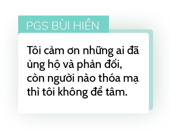 PGS Bui Hien: Nguoi khac bi 'nem da' nhu toi chac da dot quy hinh anh 8