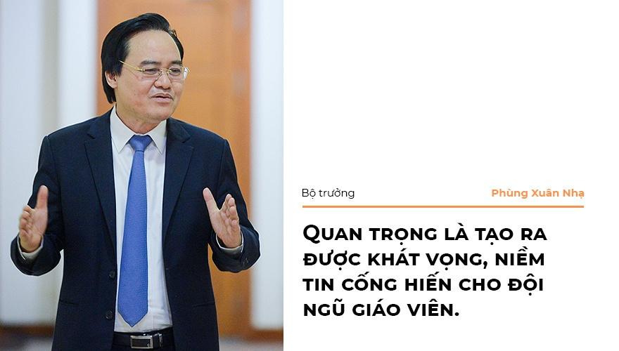 Bo truong Phung Xuan Nha: 'Niem tin xa hoi la nguon luc cua giao duc' hinh anh 13