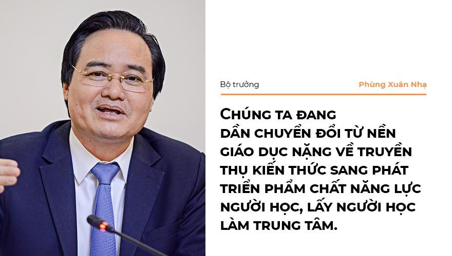 Bo truong Phung Xuan Nha: 'Niem tin xa hoi la nguon luc cua giao duc' hinh anh 5