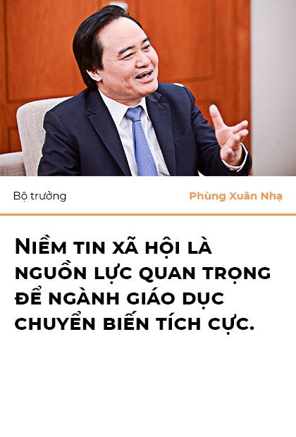Bo truong Phung Xuan Nha: 'Niem tin xa hoi la nguon luc cua giao duc' hinh anh 16