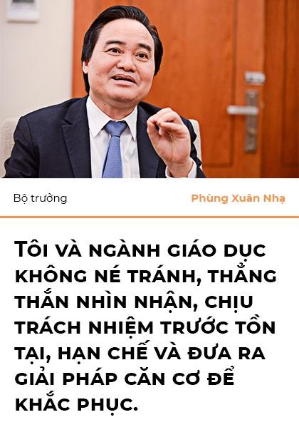 Bo truong Phung Xuan Nha: 'Niem tin xa hoi la nguon luc cua giao duc' hinh anh 8