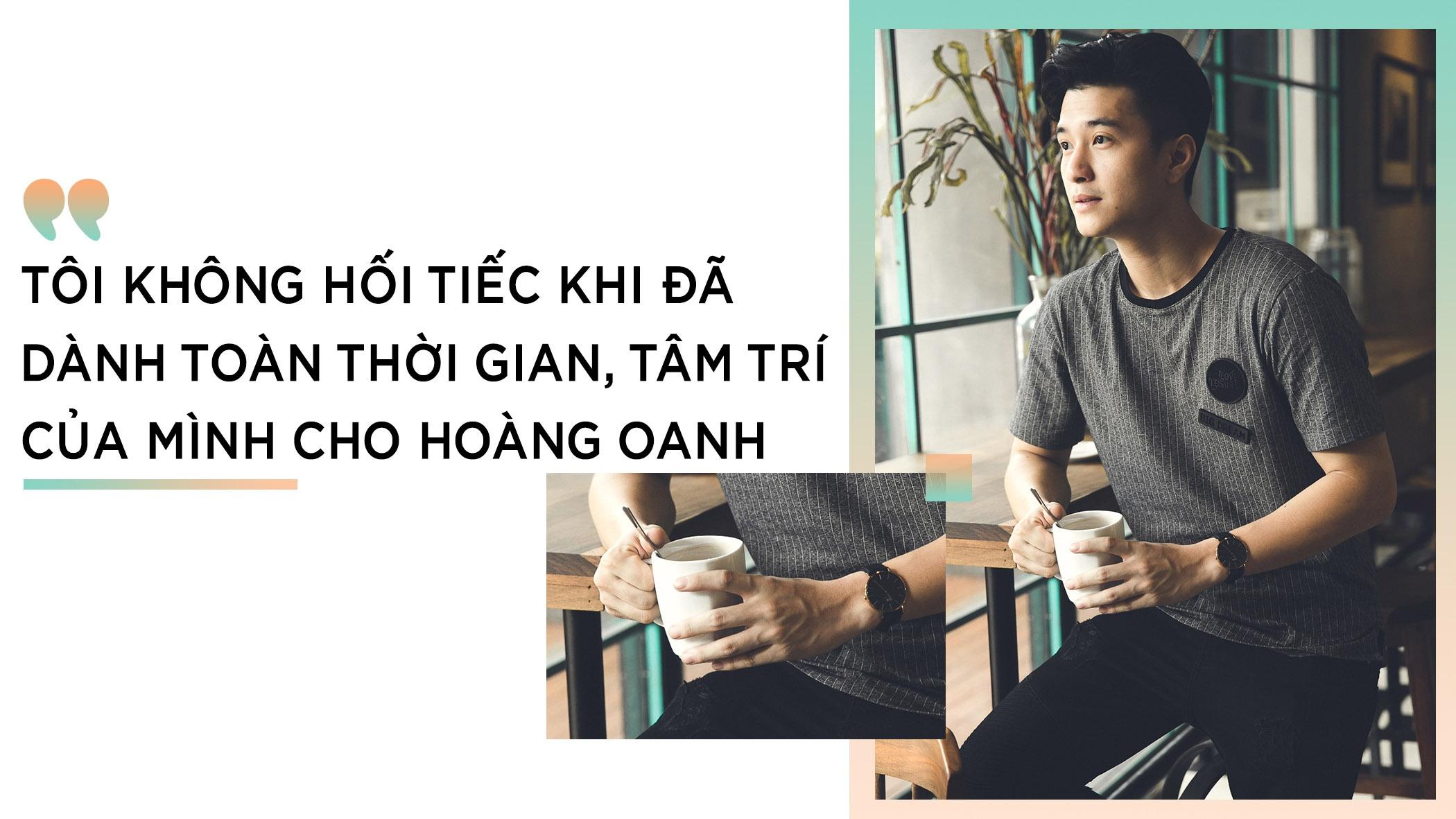 Huynh Anh: 'Khong hoi tiec khi chia tay Hoang Oanh' hinh anh 5