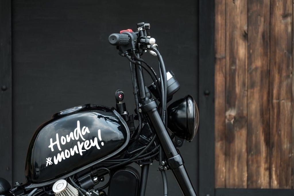 Ngam Honda Monkey 125 do thanh moto doc la bobber lai chopper hinh anh 8