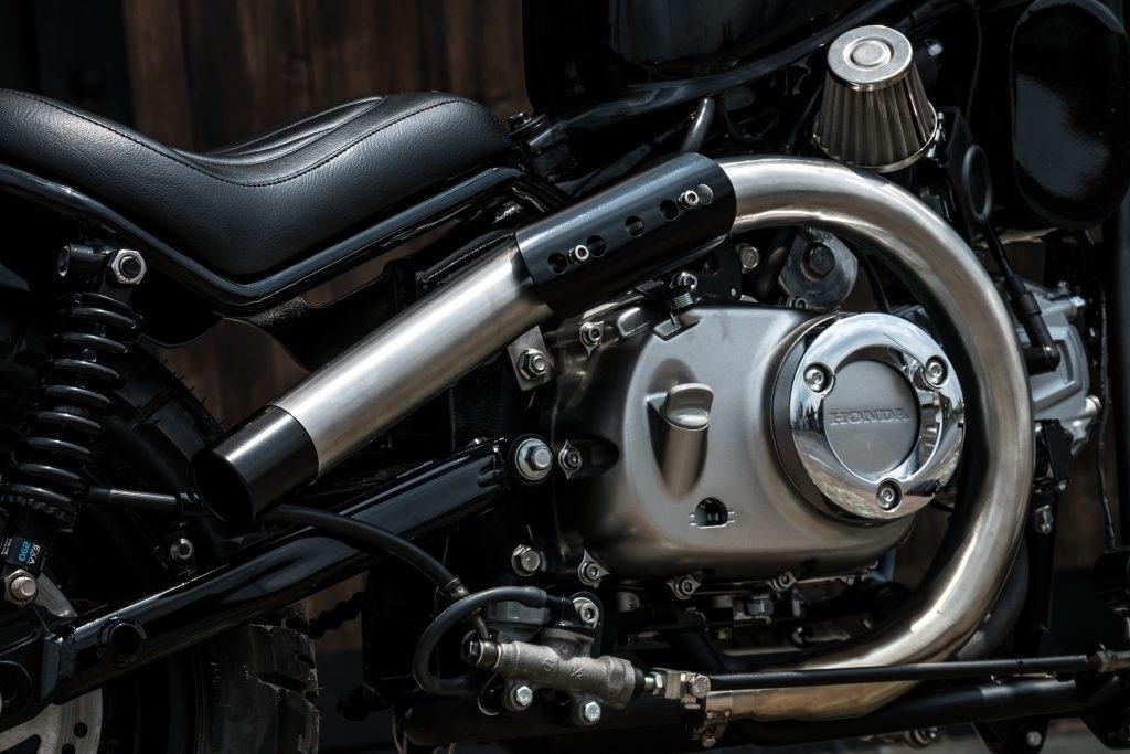 Ngam Honda Monkey 125 do thanh moto doc la bobber lai chopper hinh anh 15