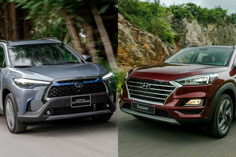 So sánh Toyota Corolla Cross và Hyundai Tucson – SUV tầm giá 1 tỷ đồng