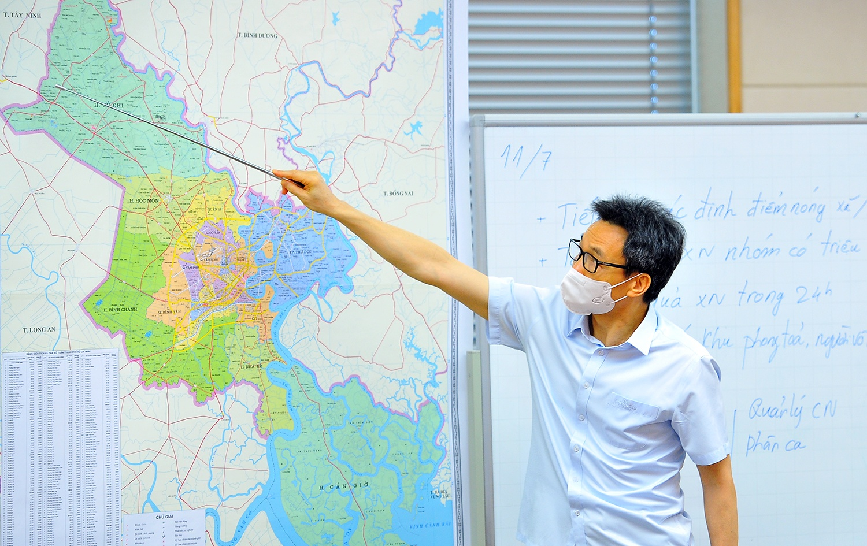 Phó thủ tướng: Bà Rịa - Vũng Tàu cần sớm dập dịch, chi viện cho TP.HCM