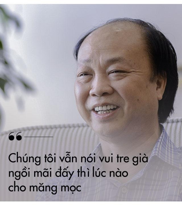 Tan chu tich LienVietPostBank: 'Ve gia toi van khoi nghiep cung nen' hinh anh 4