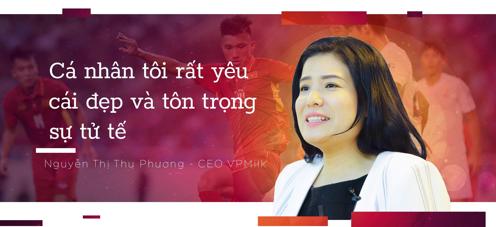 CEO VPMilk: 'Cai thien the luc cau thu Viet la uu tien so 1' hinh anh 6