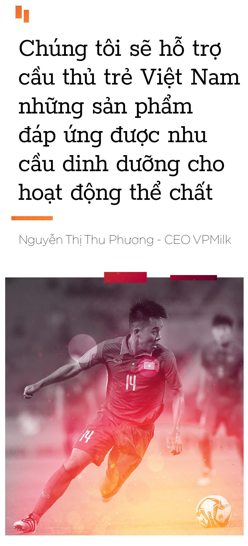 CEO VPMilk: 'Cai thien the luc cau thu Viet la uu tien so 1' hinh anh 7