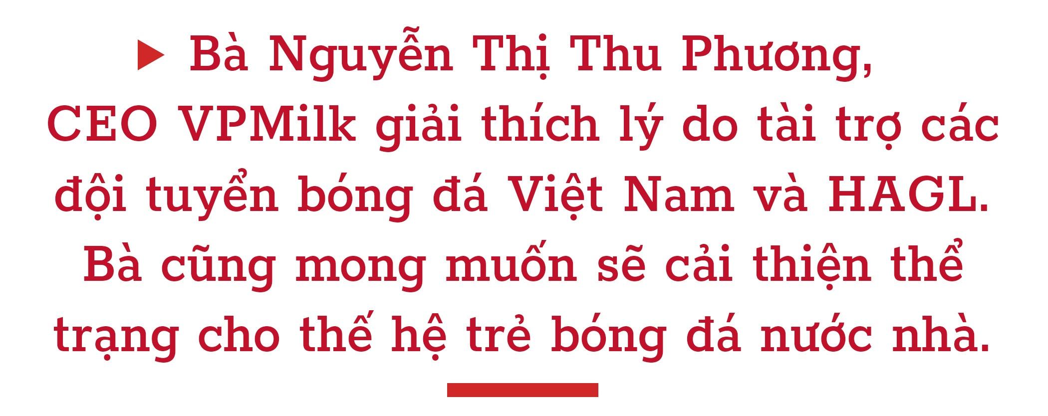 CEO VPMilk: 'Cai thien the luc cau thu Viet la uu tien so 1' hinh anh 2