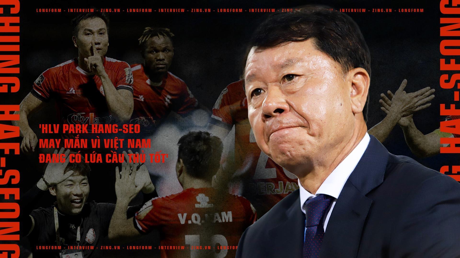 'HLV Park Hang-seo may man vi Viet Nam dang co lua cau thu tot' hinh anh 2