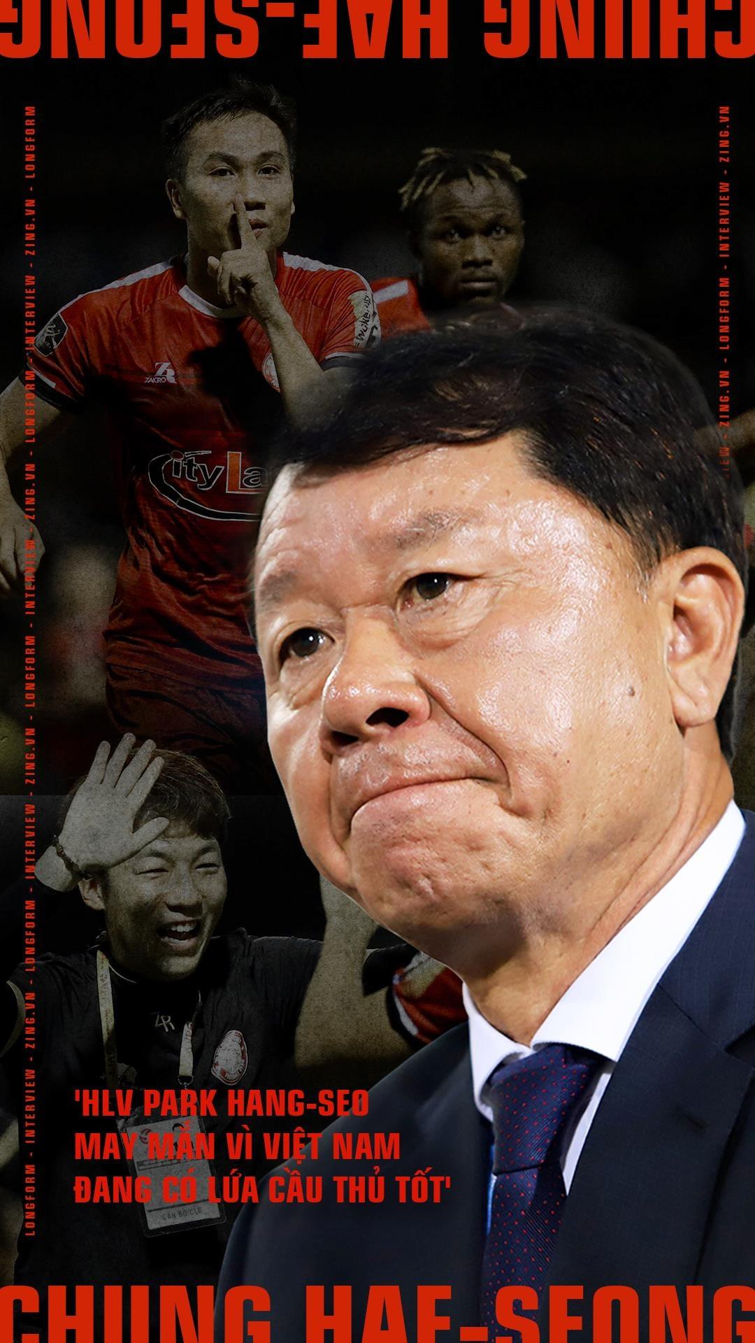 'HLV Park Hang-seo may man vi Viet Nam dang co lua cau thu tot' hinh anh 1