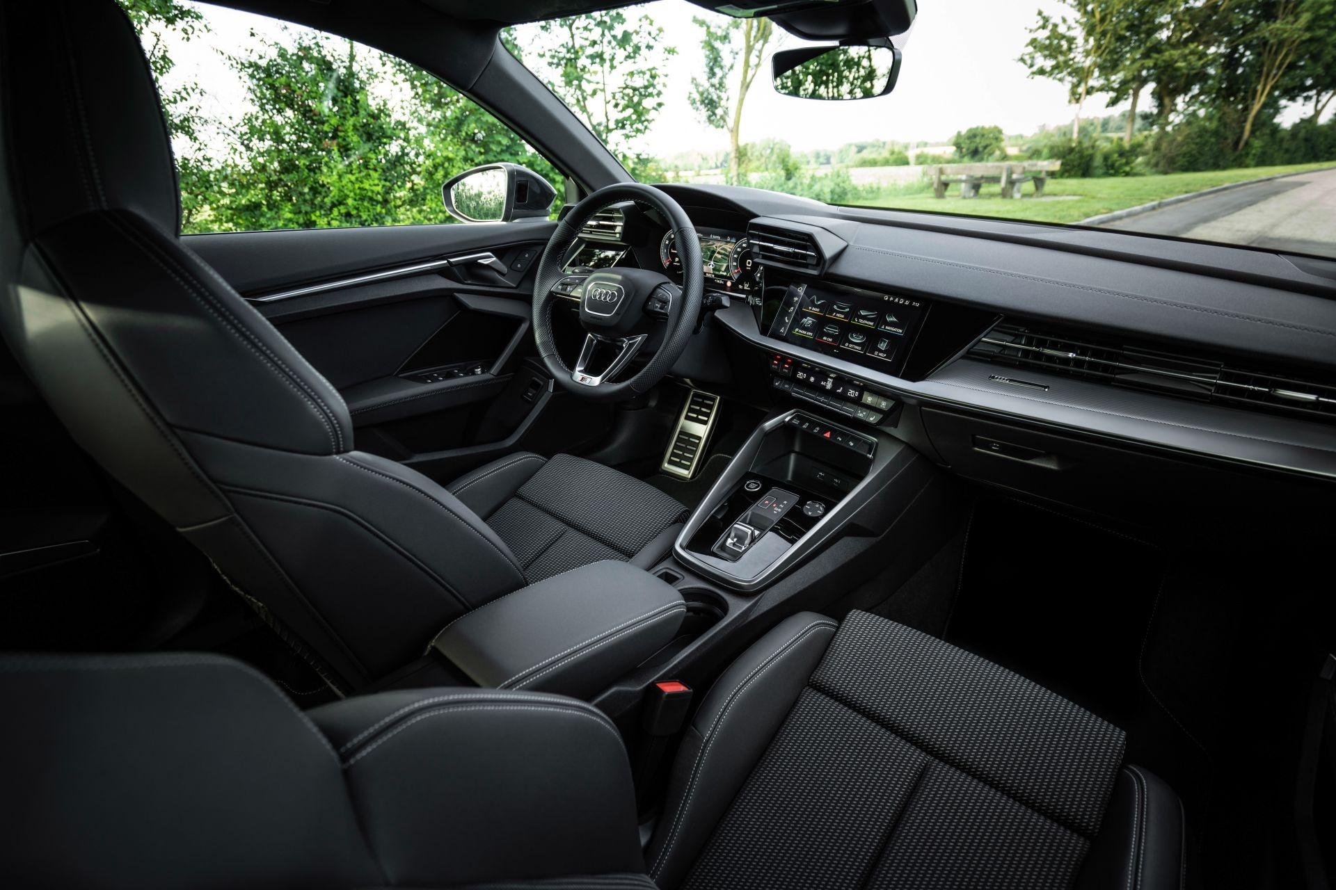 Audi tung loat anh day du cua A3 Sedan 2021 anh 42