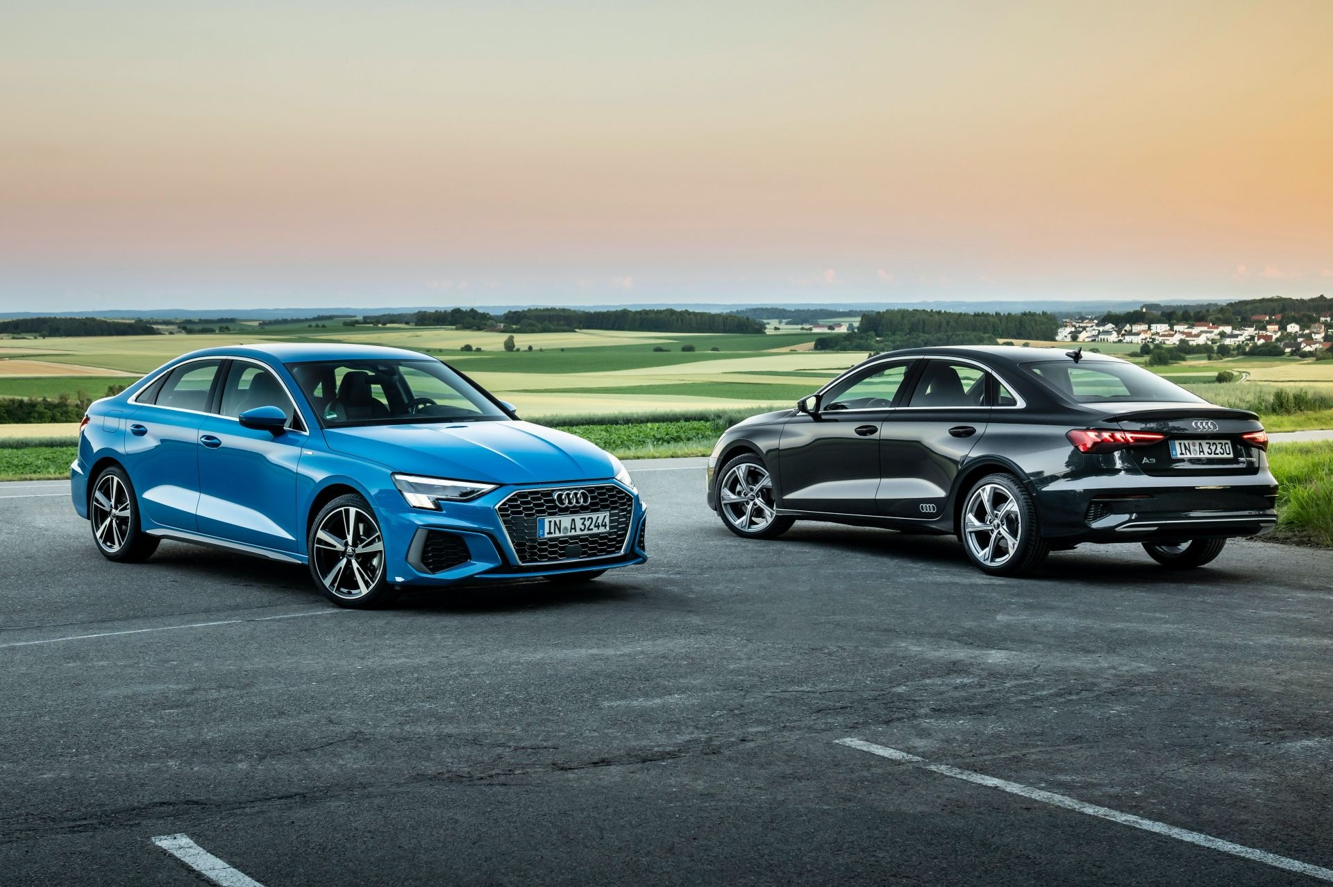 Audi tung loat anh day du cua A3 Sedan 2021 anh 1
