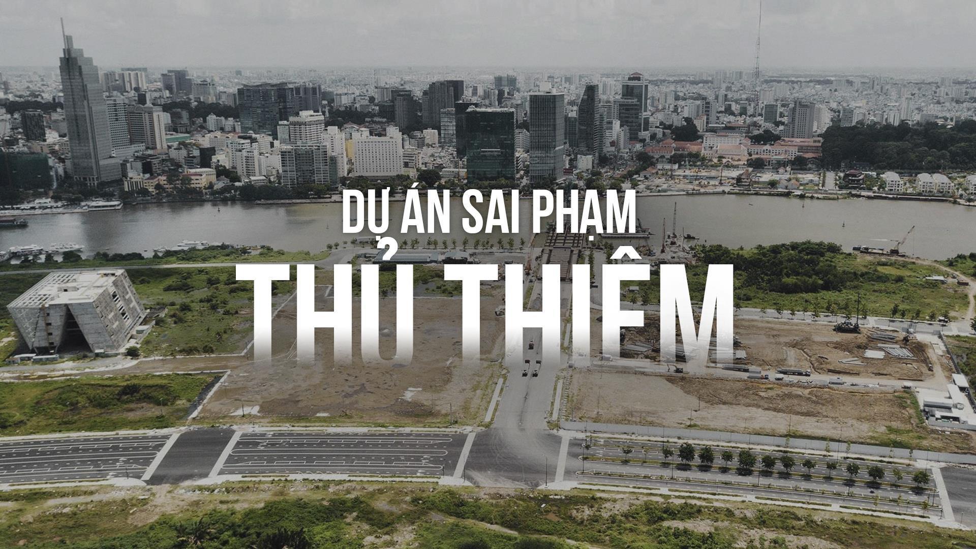 du an sai pham o Thu Thiem anh 1