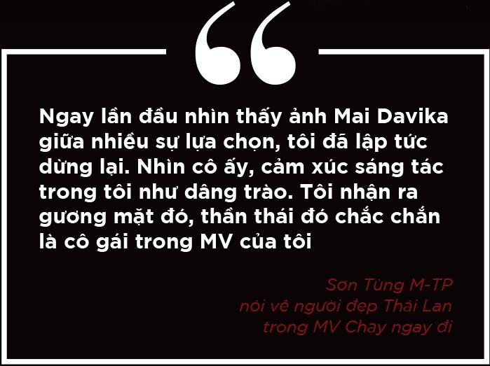 Mai Davika - My nu Thai trong MV Son Tung quyen luc va nhieu be boi hinh anh 4