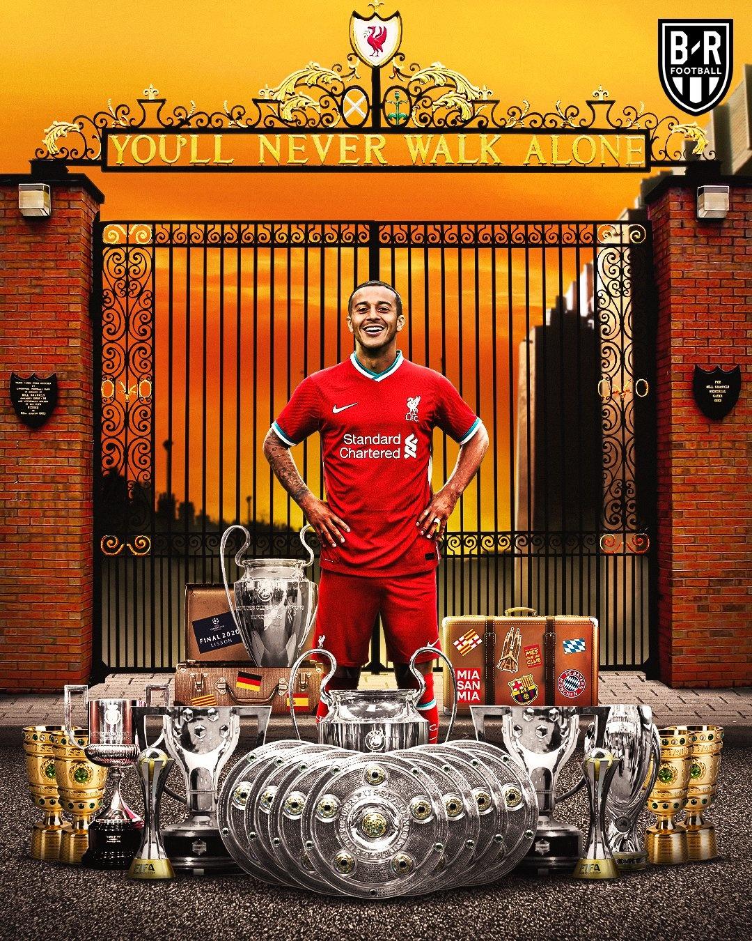 Thiago,  Liverpool,  Premier League,  Juergen Klopp,  Champions League,  Bayern,  Man United,  Chelsea,  Arsenal,  Barca anh 1