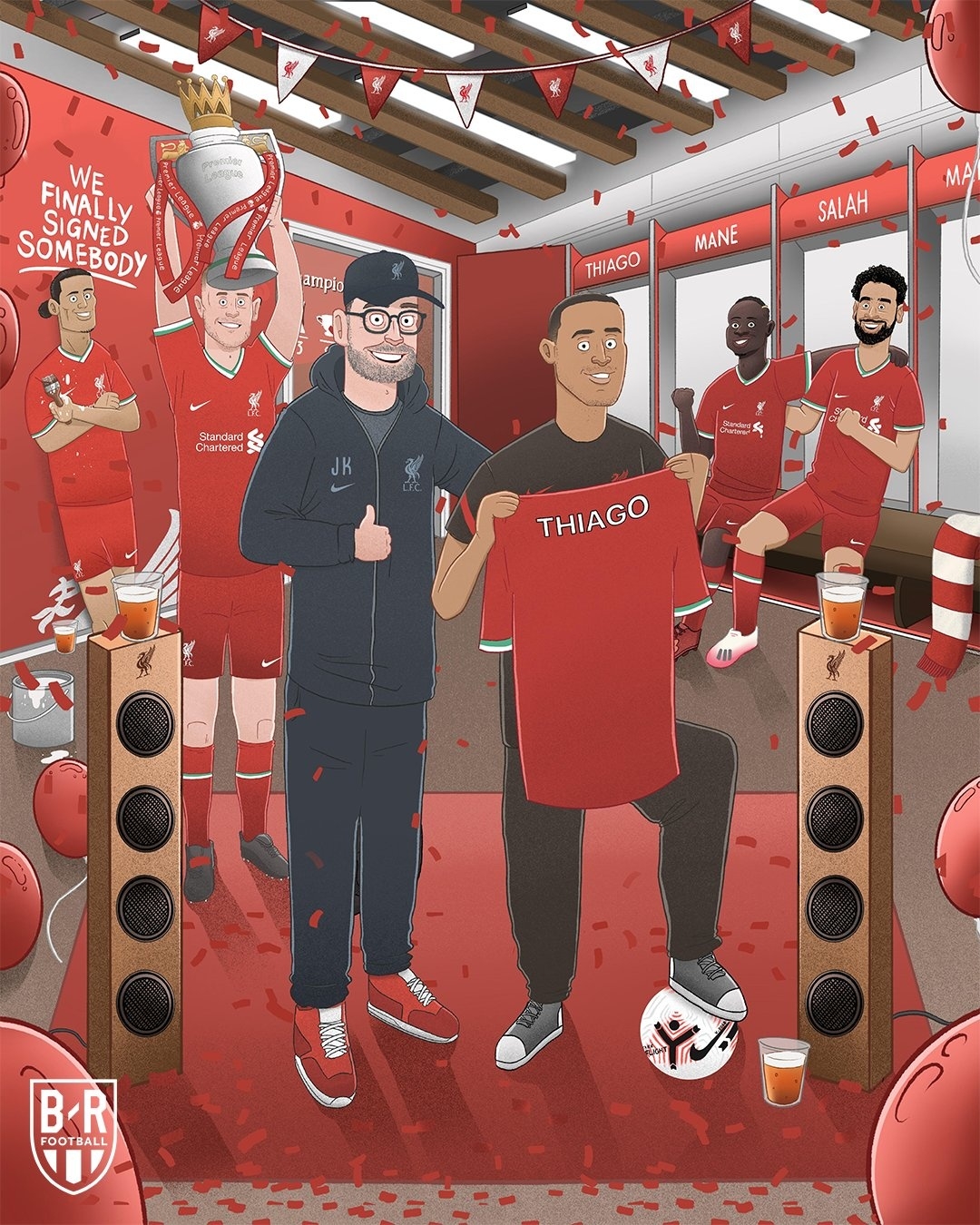 Thiago,  Liverpool,  Premier League,  Juergen Klopp,  Champions League,  Bayern,  Man United,  Chelsea,  Arsenal,  Barca anh 5