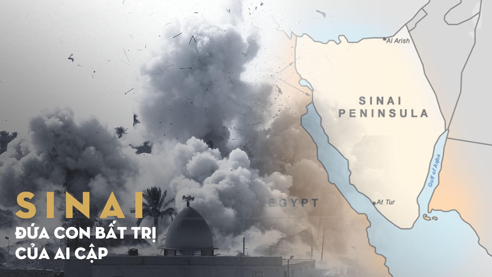 Ban dao Sinai: Dua con bat tri cua Ai Cap bat on hinh anh 1