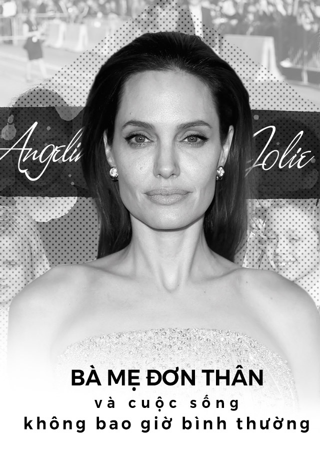 Angelina Jolie: Ba me don than va cuoc song khong bao gio binh thuong hinh anh 1