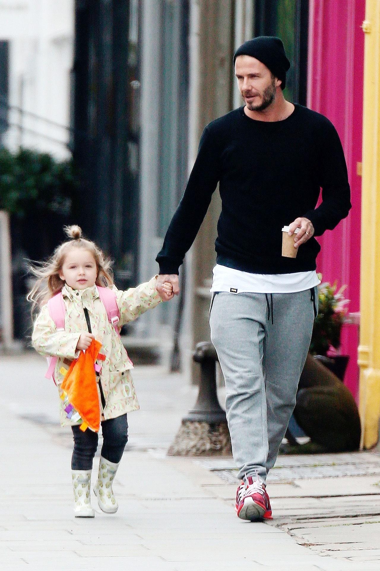 Harper Beckham cong chua Anh anh 2