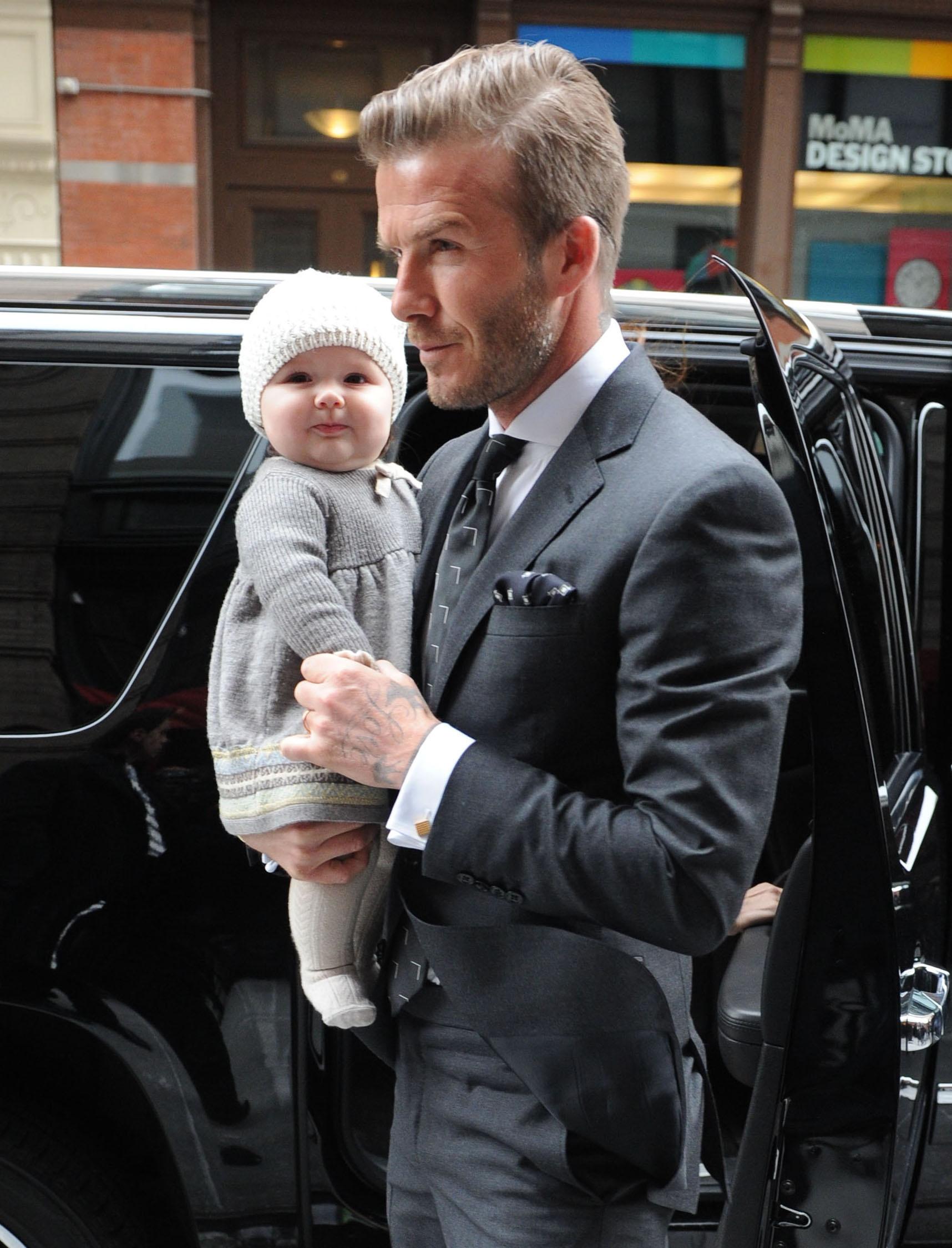 Harper Beckham cong chua Anh anh 3