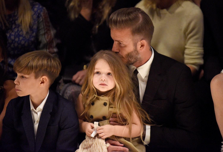 Harper Beckham cong chua Anh anh 7